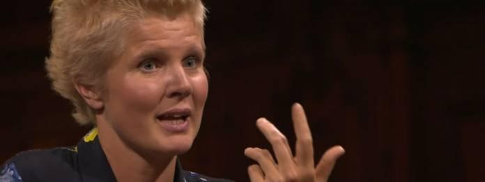 Diesmal Gast im Literarischen Quartett: Svenja Flaßpöhler (Foto: ZDF)
