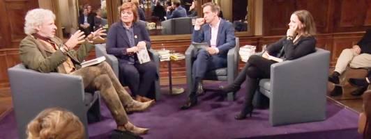 Das Literarische Quartett vom 8. Dezember 2017 (Foto: ZDF)