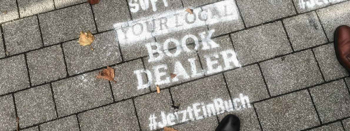 #JetztEinBuch - Support aour Local Book Dealer