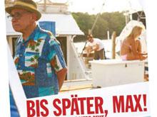 Ausschnitt aus dem Kinoplakat zu BIS SPÄTER, MAX!