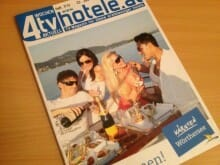 Auf dem Cover des regionalen Gästemagazins: So leben die Bachmann-Preisträger des Vorjahres