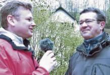 Wie ich einmal mit Manuel Andrack wanderte, er länger auf der Strecke blieb und wir ein Interview führten 1