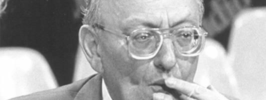 In Anlehnung an die Treffen der Gruppe 47 wurde 1976/77 der Bachmannpreis gegründet. Zu den ersten Juroren zählte Marcel Reich-Ranicki (Foto: ORF/bachmannpreis.at)
