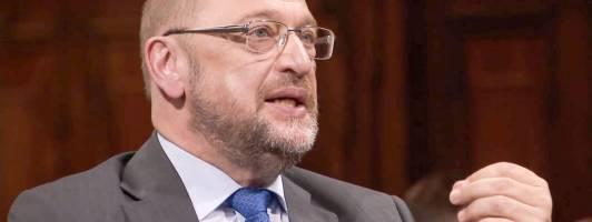 Fakt ist: Martin Schulz war Gast im Literarischen Quartett (Foto: ZDF)