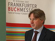 Jürgen Boos, Direktor der Frankfurter Buchmesse