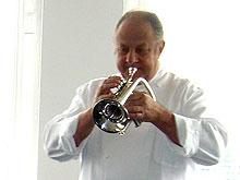 Kann nicht nur kochen, sondern greift auch schon mal zur Trompete: Vincent Klink