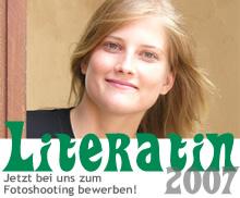 Jetzt bewerben zur Literatin 2007