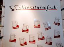 Frankfurter Buchmesse: Messestand des literaturcafe.de
