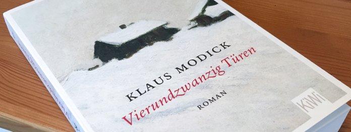 Klaus Modick: Vierundzwanzig Türen