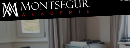 Montségur Akademie - Ausschnitt aus einem Screenshot
