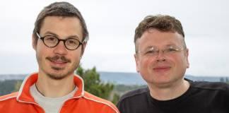 35. Podcast-Folge: Zwei Menschen und vier Bücher