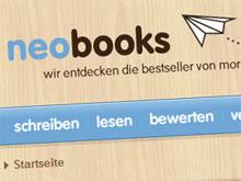 Ausschnitt aus der Website von Neobooks von Droemer Knaur