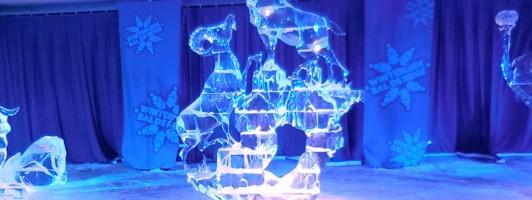 Eisskulpuren beim Winterlude