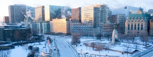 Kalt aber schön: Ottawa im Winter