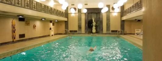 Art-déco-Pool im Fairmont Chateau Laurier