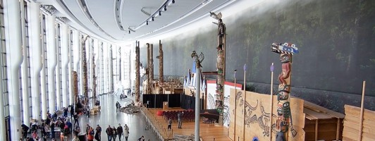 Eingangshalle des Canadian Museum of History