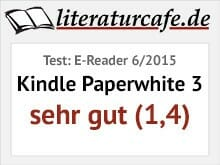 Kindle Paperwhite 3 - Testbewertung sehr gut (1,4)