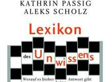 Kathrin Passig/Aleks Scholz: Lexikon des Unwissens und Riesenmaschine - Buchmesse-Podcast 2007