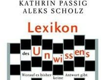 Kathrin Passig/Aleks Scholz: Lexikon des Unwissens und Riesenmaschine – Buchmesse-Podcast 2007