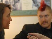 Kathrin Passig und Sascha Lobo im Interview: Dinge geregelt kriegen – ohne einen Funken Selbstdisziplin – Buchmesse-Podcast 2008