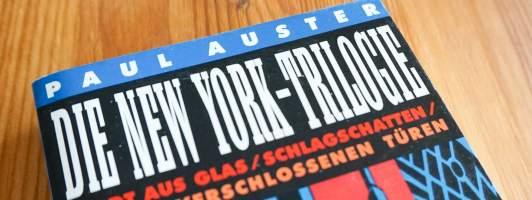 Das beste fast zu Beginn: »Stadt aus Glas« ist Paul Austers bestes Werk