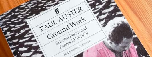 Aufbauarbeit mit Paul Auster