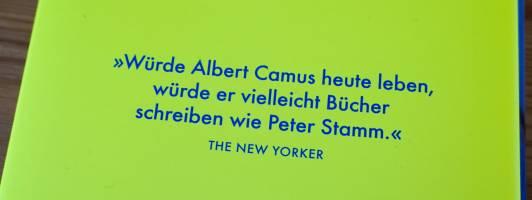 Zitat aus dem New Yorker zu Peter Stamm