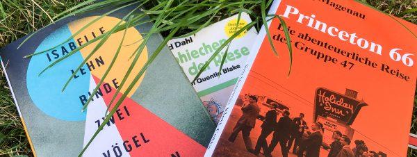 Sommergarten, offline - vier Bücher später