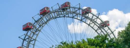 Riesenrad auf dem Wiener Prater