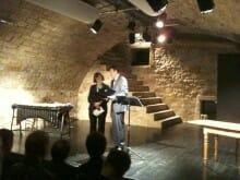 Landespreises für literarisch ambitionierte kleinere Verlage 2010: Verleihung im Tübinger Zimmertheater an Claudia Gehrke konkursbuch Verlag