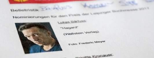 Lukas Bärfuss: Hagard