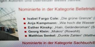 Preis der Leipziger Buchmesse 2018: Der erste Blick auf die Shortlist (1/2) 1