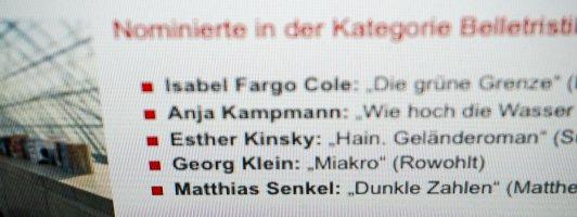 Preis der Leipziger Buchmesse 2018