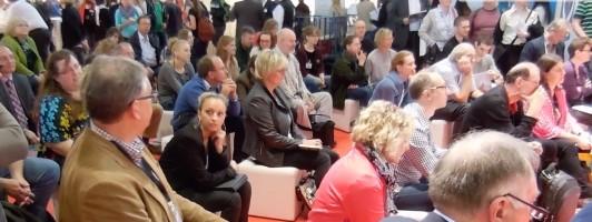 Das Publikum auf der Self-Publishing Area