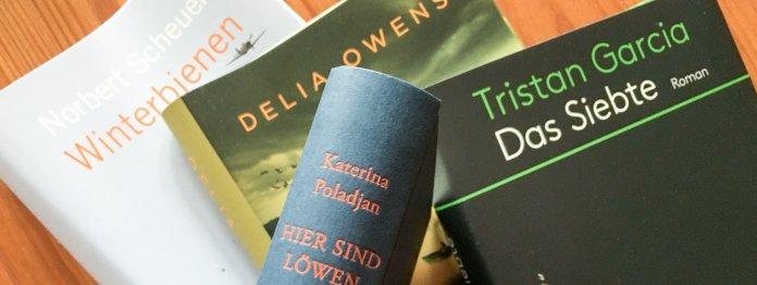 Die Bücher des Literarischen Buchhandelsquartetts
