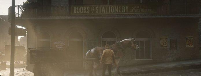 In den verstaubten Straßen von Saint Denis ist auch eine Buchhandlung zu finden