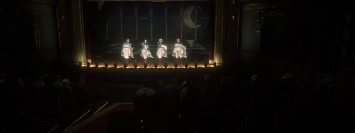 Showgirls in der Revue