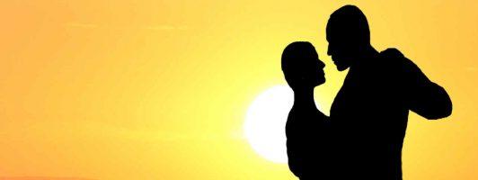Ausschnitt aus dem Cover des Romans »Recuerdos – Vielleicht war es ein Tango«
