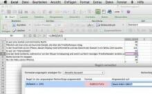 Mithilfe von Excel, einer einfachen Längenformel und der bedingten Formatierung schreiben Sie twittergerecht.