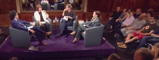 Die rote Hose im Quartett (Foto: ZDF)