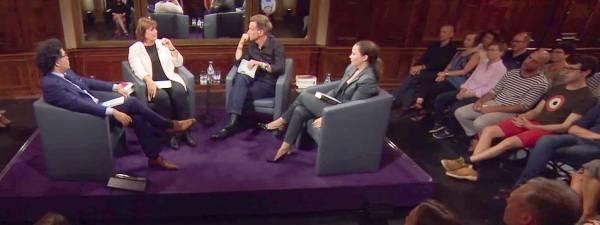 Literarisches Quartett: Wie eine kurze rote Hose ins Fernsehen kam