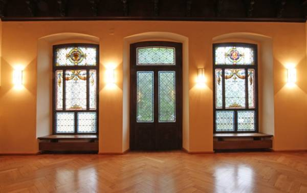 Seminarort: Der Veranstaltungssaal im Haus Münsterberg in Detmold (Foto: Robin Jähnle/Literaturbüro OWL)