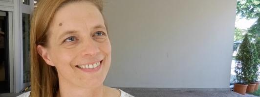 Das 2. Jahr dabei: Bachmann-Jurorin Sandra Kegel