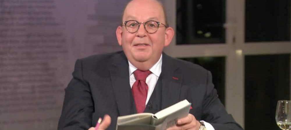 Denis Scheck in der Sendung »lesenswert quartett« des SWR vom 14.12.2020 (Screenshot)