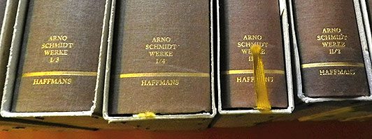 Arno Schmidt - Bargfelder Ausgabe