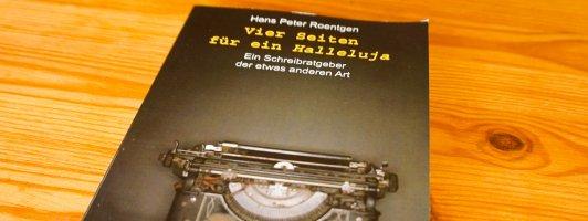 Hans Peter Roentgen: Vier Seiten für ein Halleluja