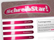 Die Website SchreibStar.tv
