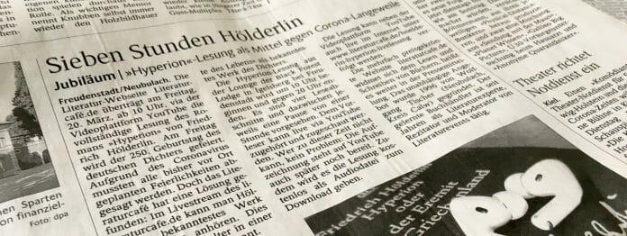 Der Schwarzwädler Bote berichtete über die Lesung