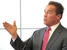 Arnold Schwarzenegger (Foto: literaturcafe.de)