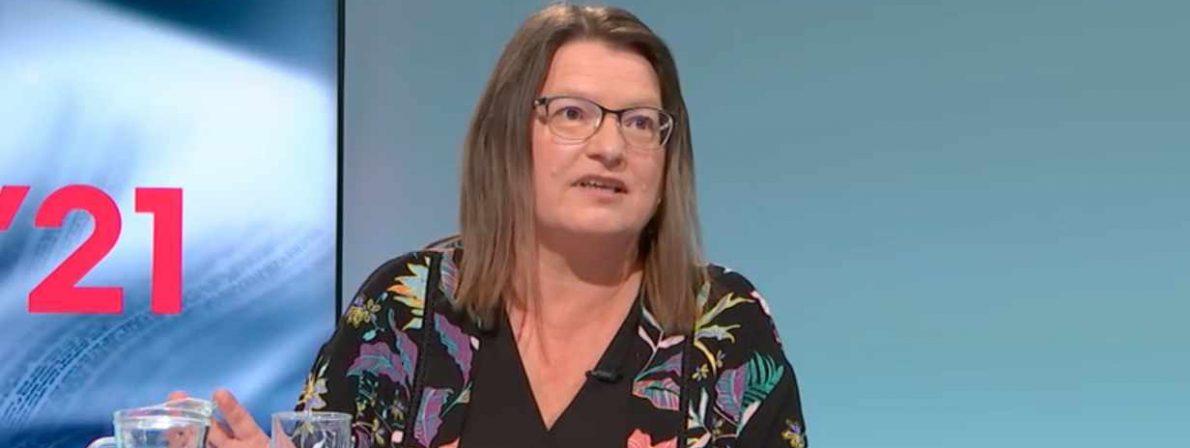 Brigitte Schwens-Harrant (Foto: Screenshot/ORF)
